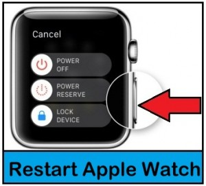 How to Restart Apple Watch: Force Restart