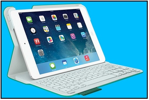 Logitech iPad Mini folio case with Keyboard