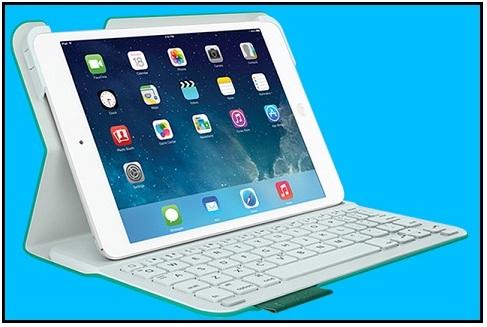 Logitech iPad Mini folio case with Keyboard