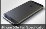 full iPhone 5Se Specification march 2016