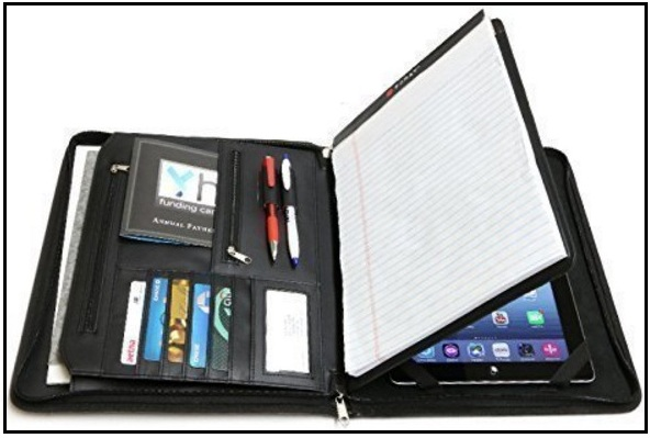 12.9 inch iPad Pro leather portfolio case 2016