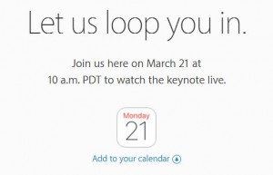 Best sources for watch apple live streaming 21 March event