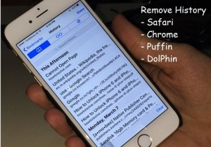 How to delete history on iPad, iPhone: Safari, Chrome, Dolphin