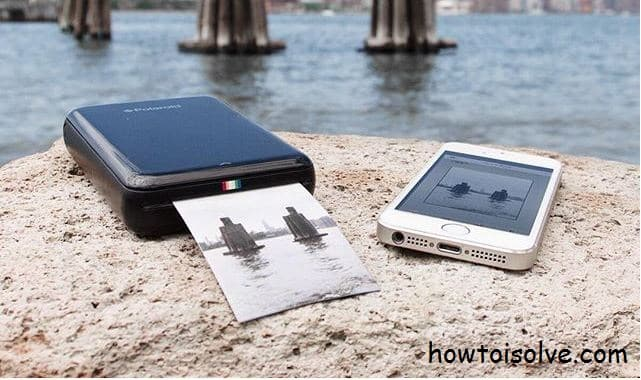 Best mobile printer for iPhone by Polaroid