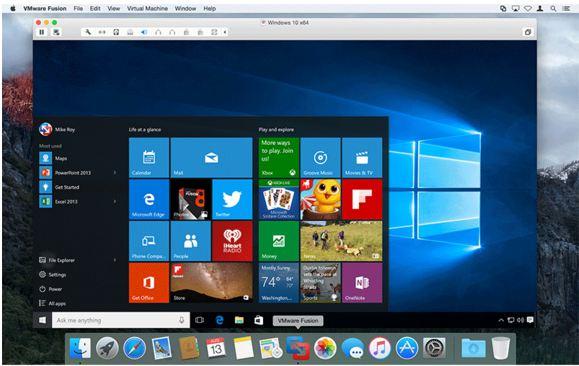 virtualization software for Mac OS X EI Capitan and Yosemite