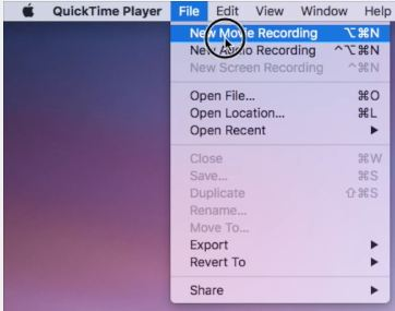 Screenshot or record video on apple TV 4 start new movie recording