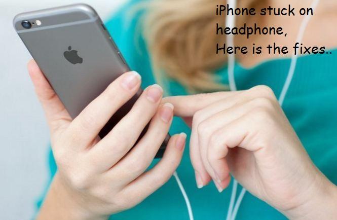 iPhone stuck in headphone mode fixed