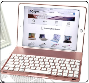 BLuetooth keyboard case for iPad pro 9.7