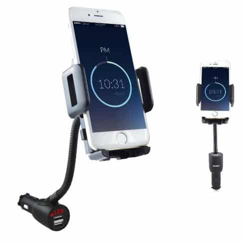 iPhone SE car mount with charging port