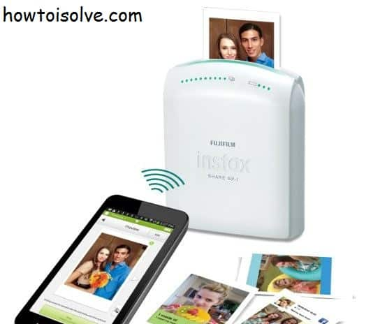 fujifilm iPhone printer