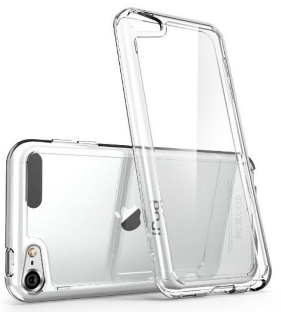Clear iPhone SE case