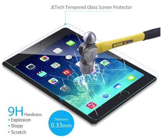 JETECH iPad pro 9.7 inch screen protector