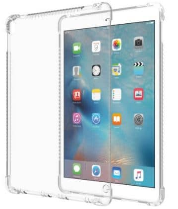 Silicon clear case for iPad pro by LUVVITT