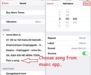 Change iPhone 6 alarm sound as you like