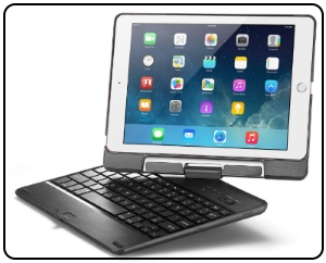 iPad pro movable bluetooth keyboard case