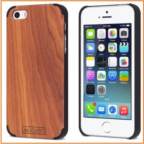 Wooden iPhone SE case by icaseit