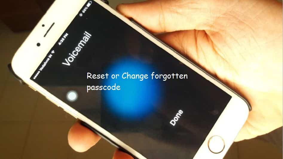 reset voicemail password iphone reset forgot voicemail password on iphone verizon at amp t 7102