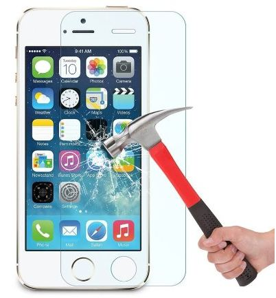 Hard tempered glass protector