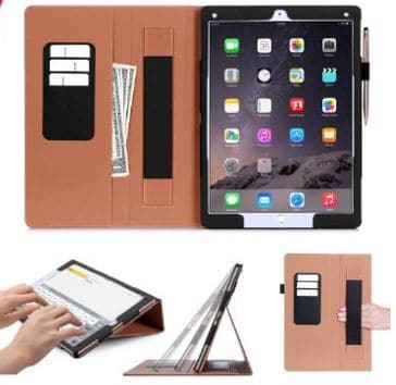 Premium leather case for iPad pro