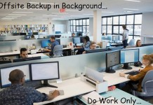Offsite online backup from Mac