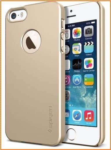 Premium iPhone SE case from spigen
