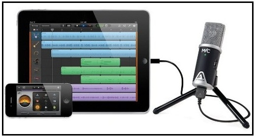 Apogee best Microphone for Apple iPadAir, iPad Mini, iPad Pro
