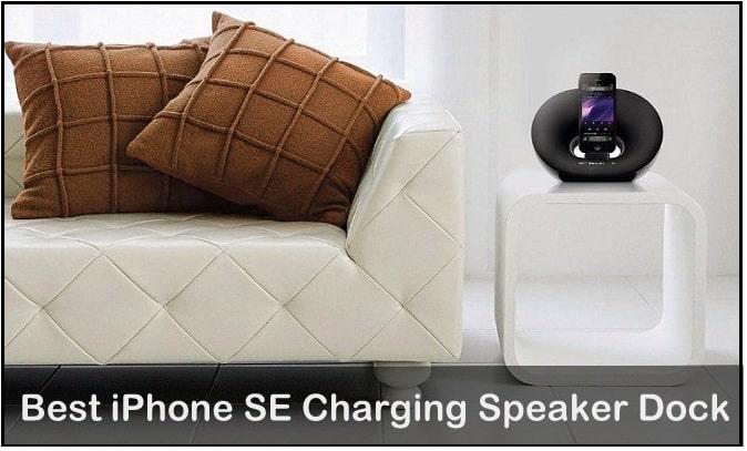 best Philips Charging Speaker dock for iPhone SE 2016