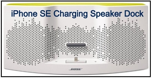 Bose: The branded iPhone SE charging speaker dock
