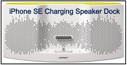 Bose: The branded iPhone SE charging speaker dock
