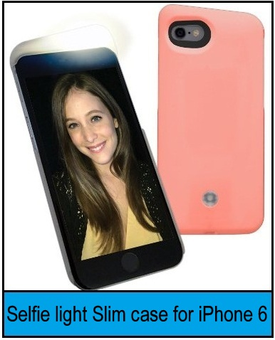 front flash camera case for iPhone 6S
