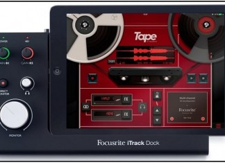 Focusrite iTrack Professional best ipad Audio interface dock 2016