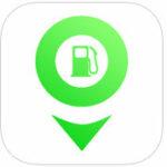 gas station locator iOS app icon
