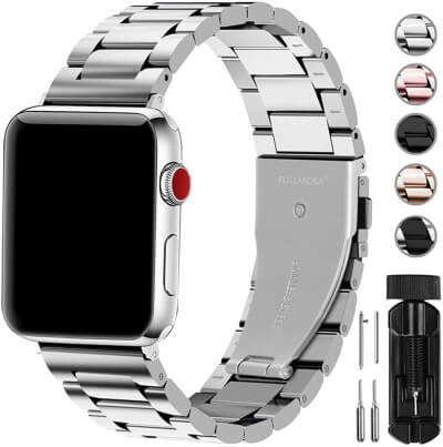 Fullmosa- Best Link Bracelet Apple Watch Band