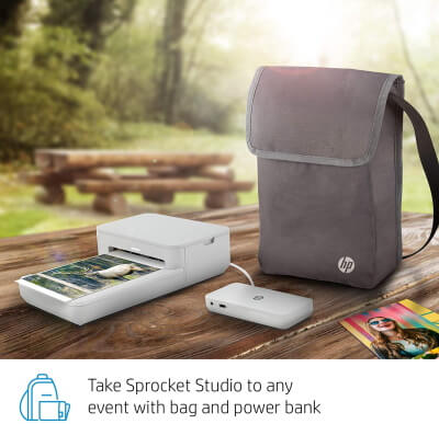 HP Sprocket Studio Go