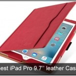 Best iPad Pro 9.7'' leather Cases: Folio Cover