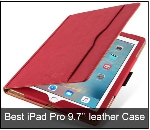official photos 07d81 fb9db Best iPad Pro 9.7'' Leather Cases: Folio Cover