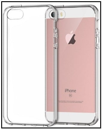 JETech iPhone SE clear Case bumper