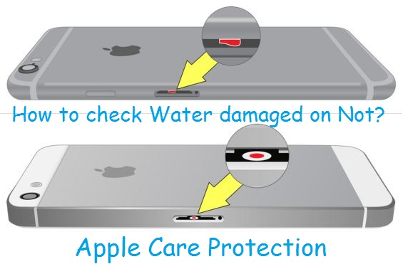 Applecare water damage protection on iPhone, iPad, iPod Touch