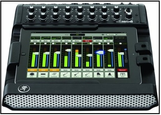 Live sound Digital Mixer with dock for iPad