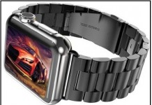 Stainless Steel iWatch Wrist Band Link Bracelet Clasp