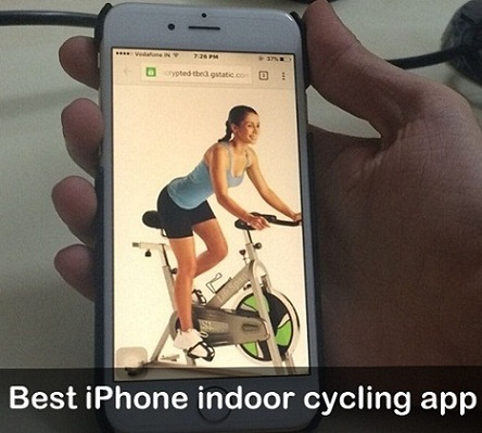 Apple watch iPhone indoor cycling app