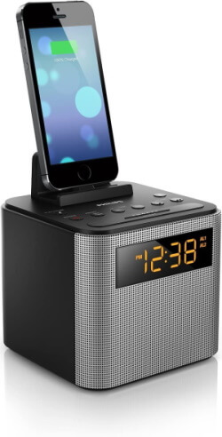 Philips Charging Dock Speaker for iPhone 5S 5, Rechargeable