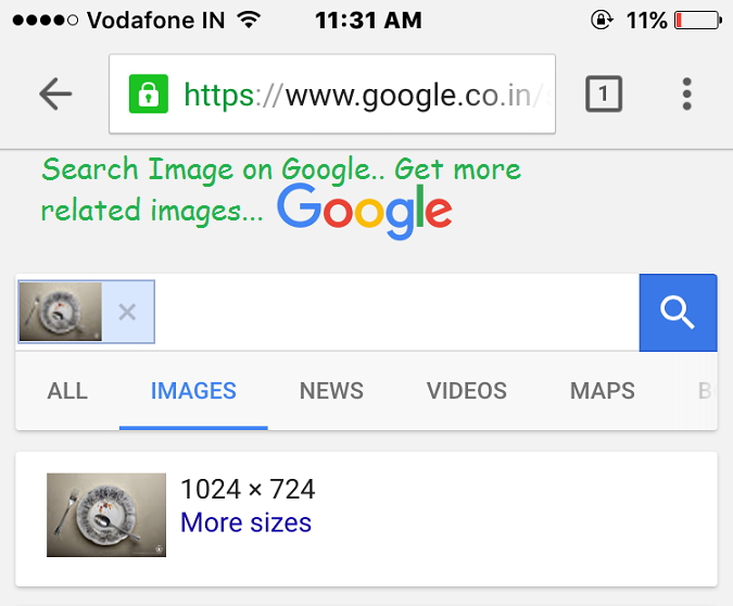 google image search on iphone how to search by image on iphone ipod 17001