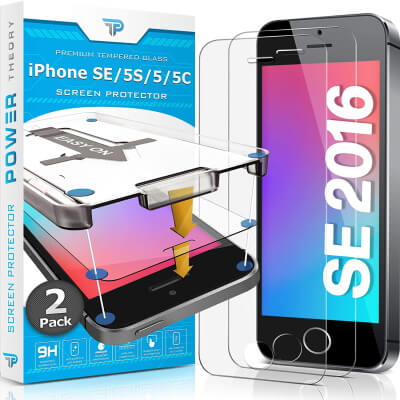 Power Theory Tempered Glass Protector