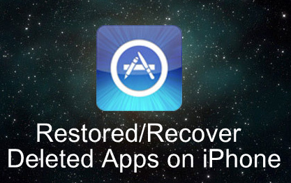 Recover Deleted Apps on iPhone, iPad, iPod iOS 9, iOS 8
