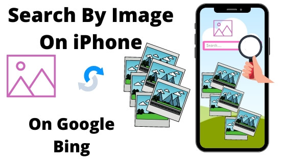 Search By Image on iPhone and iPad, Reverse Image Search