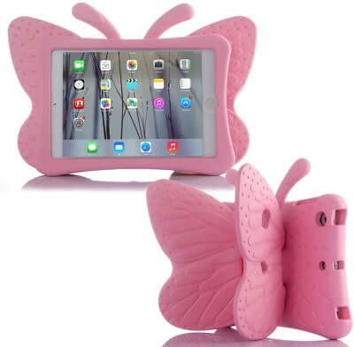 Simicoo iPad Air 2019 iPad pro 10.5 3D Cute Butterfly Case For Kids