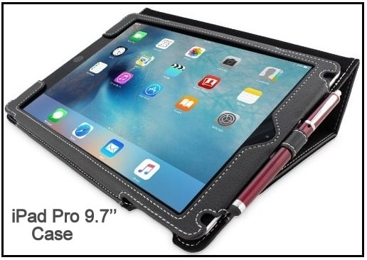 Best Snugg - iPad Pro 9.7'' leather Case