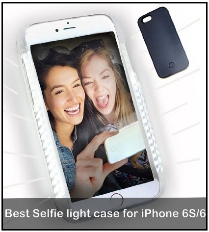 wholesale dealer 1acc8 09f87 Best Selfie Light Cases for iPhone 6S/6, iPhone 7/7 Plus, iPhone 8/8 ...