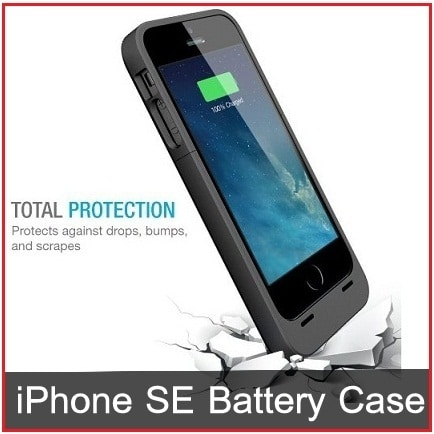 buy online e0d3d 1718a Best Extended Battery Case for iPhone SE in 2019: Charger Cases